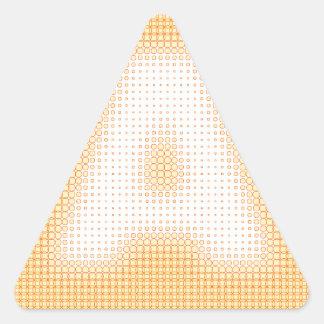 A Monogram Triangle Sticker