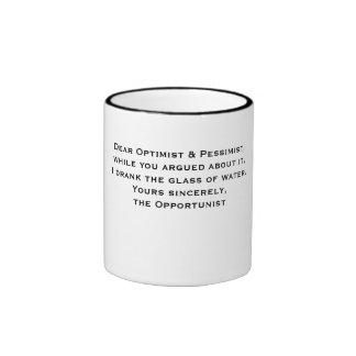 A Mug for Opportunists