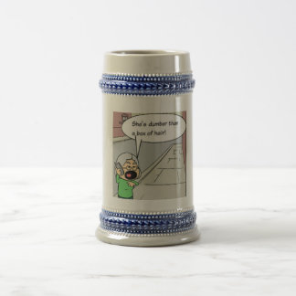 "A mug with a ""unique"" cartoon on it!"