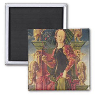 A Muse, c.1455-60 Square Magnet