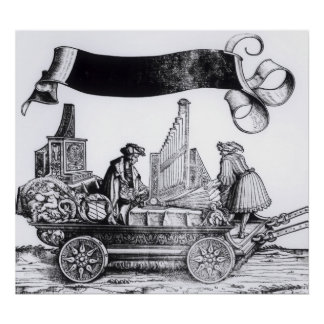 A Musical Carriage Poster