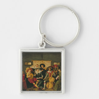 A Musical Party, c.1625 Key Ring