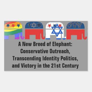 A New Breed of Elephant Sticker Sheet