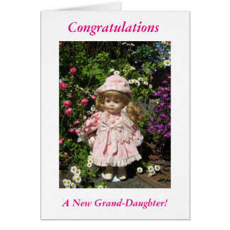 A new great grand-daughter card