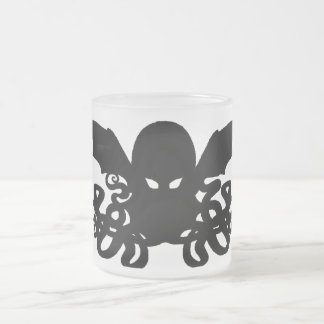 A Nice Steaming Cup of Cthulhu - Frosted Mug