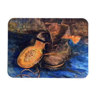 A Pair of Shoes by Vincent van Gogh 1887 Vinyl Magnet