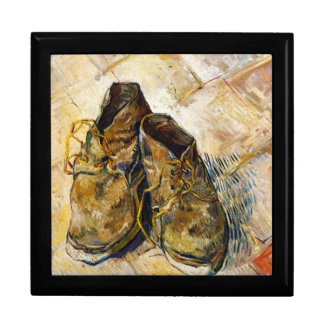 A Pair of Shoes Vincent van Gogh fine art painting Gift Box