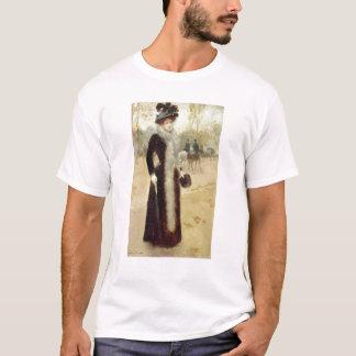 A Parisian Woman in the Bois de Boulogne, c.1899 T-Shirt