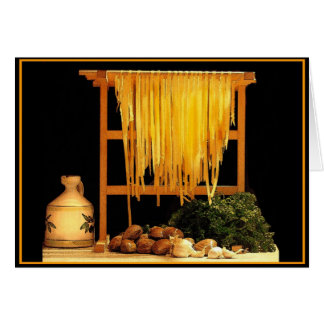 A Pasta Feast Greeting Card