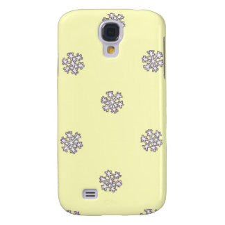 A pattern of snowflakes galaxy s4 case