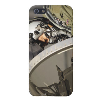 A pilot prepares his F-15A Eagle Case For The iPhone 5