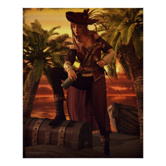 A Pirate's Life Poster