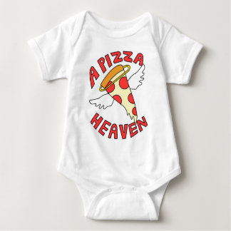 A Pizza Heaven Baby Bodysuit