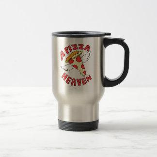 A Pizza Heaven Travel Mug