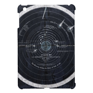 A plan or map of the Solar System Cover For The iPad Mini