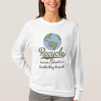 A Planet Is A Terrible Thing To Waste Hoodie