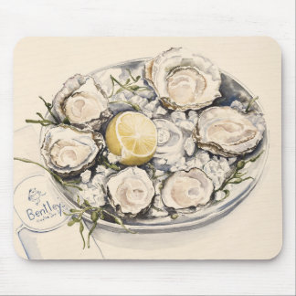 A Plate of Oysters 2012 Mouse Pad