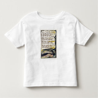 'A Poison Tree', plate 50 (Bentley 49) from 'Songs Toddler T-Shirt