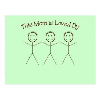 A Postcard for Mom