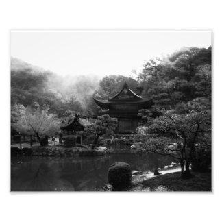 A RAINY DAY AT EIHO-JI PHOTOGRAPH