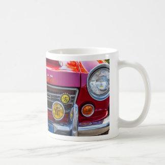 A red Datsun 2000 Basic White Mug