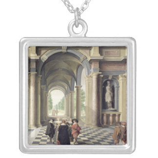 A Renaissance Hall Silver Plated Necklace