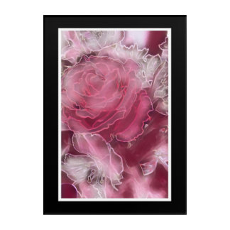 A Rose is a Rose.... on acrylic panel Acrylic Wall Art