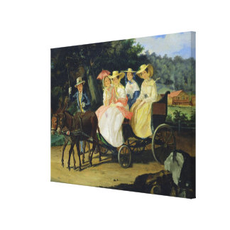 A Run, 1845-46 Canvas Print
