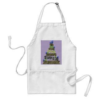 a safari cake standard apron
