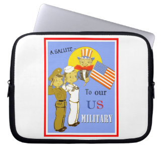 A Salute To Our US Military Laptop Sleeve