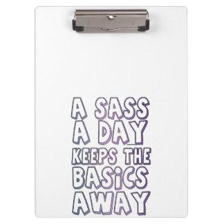 A Sass A Day Keeps The Basics Away Clipboards