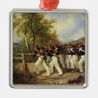 A Scene from the soldier's life, 1849 Christmas Ornament
