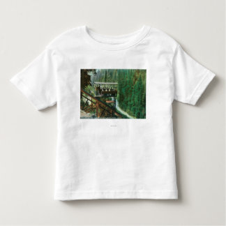 A Scenic Railway Along the Sacramento River Toddler T-Shirt