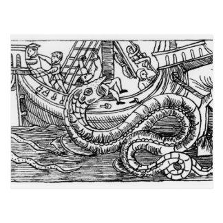 A Sea Serpent Post Card