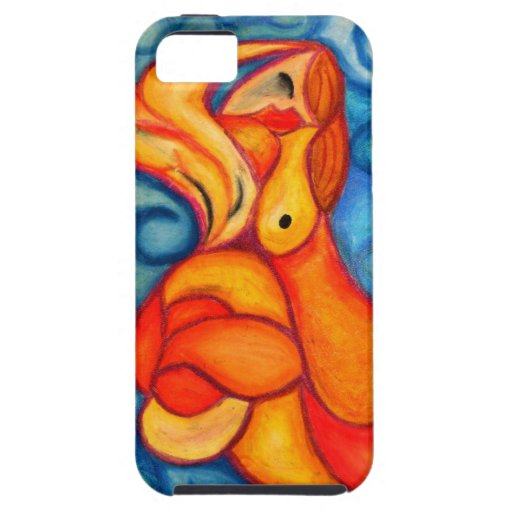 A Seeping ladle in orange & red iPhone 5 Cases