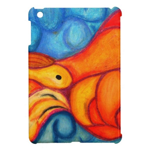A Seeping ladle in orange & red iPad Mini Cover