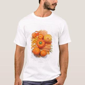 A selection of orange fruits & vegetables. T-Shirt
