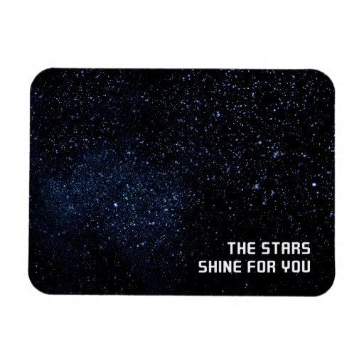 A Sky Full of Stars Rectangle Magnets