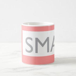A smart living themed mug