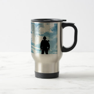 A Soldier For Peace Travel Mug