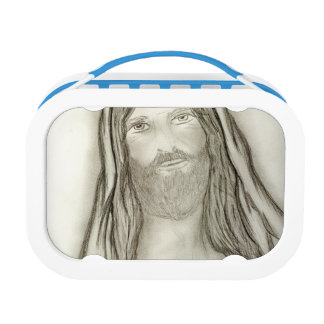 A Solemn Jesus Lunch Box