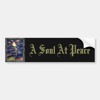 A Soul At Peace Bumper Sticker