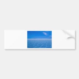 A Spiritual Place -Boliva-Salt-Flats Bumper Sticker