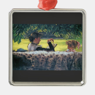 A story read by James Tissot Christmas Ornament