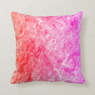 A Tequila sunrise  Abstract  throw pillow
