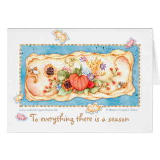 A time for Thanksgiving Note Card