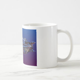 A touch of frost - landscape basic white mug