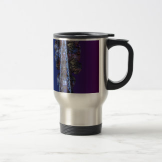 A touch of frost - portrait stainless steel travel mug