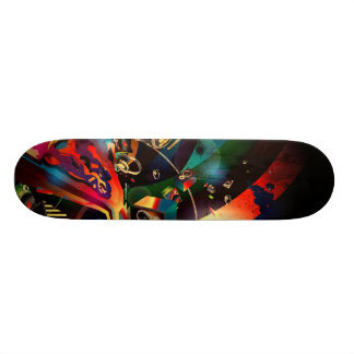 A Tribute 2 Music 21.6 Cm Old School Skateboard Deck