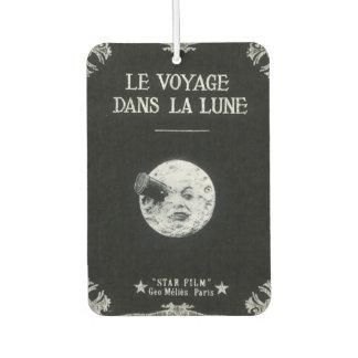 A Trip to the Moon Le Voyage dans la Lune Car Air Freshener